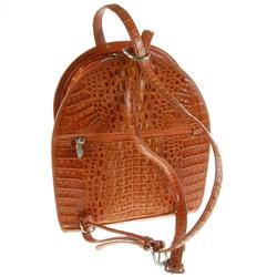 New Crocodile Backpack Handbag (ACT-038)