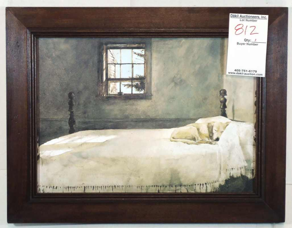 Master Bedroom Artist Andrew Wyeth