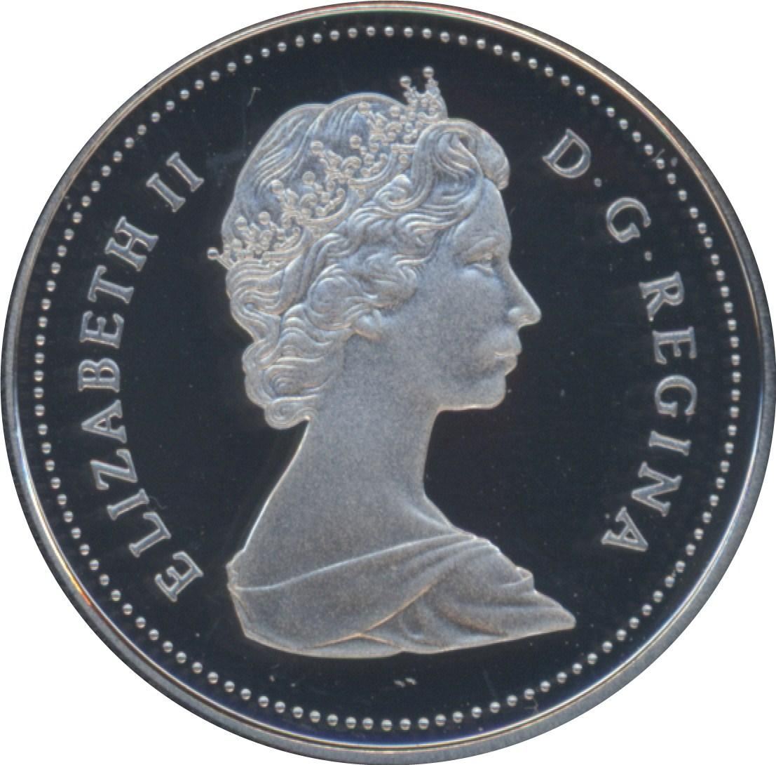 Canada 1989 Nickel 5 Cents Proof Heavy Cameo