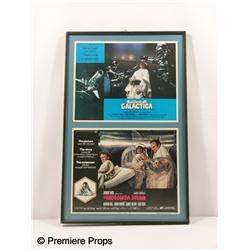 """Battlestar Gallactica"" &""The Andromeda Strain"" Poster Cards"