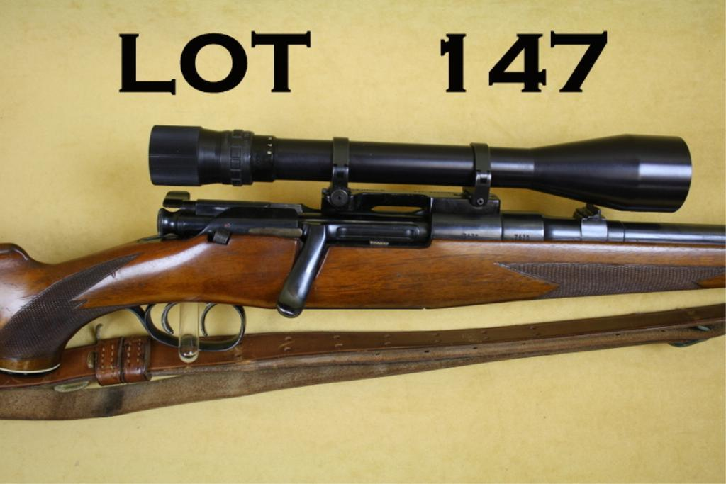 Steyr-Daimler Mannlicher bolt-action rifle, 7mm cal , 24