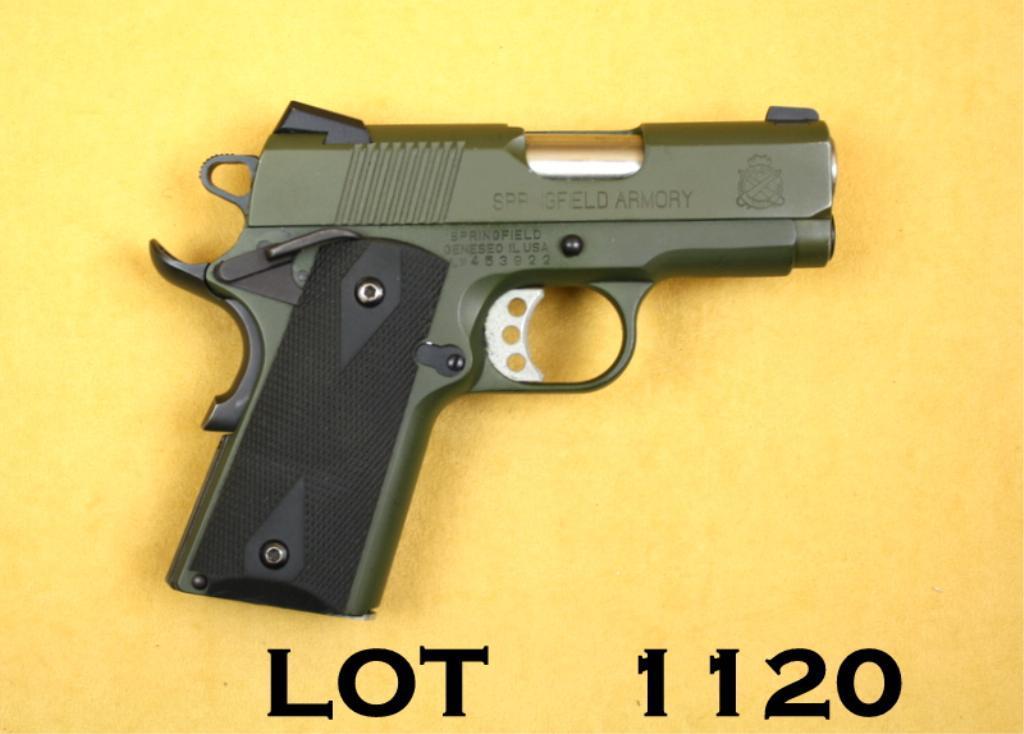SPRINGFIELD ARMORY Ultra Compact, #LW453922,  45 ACP, 3 125