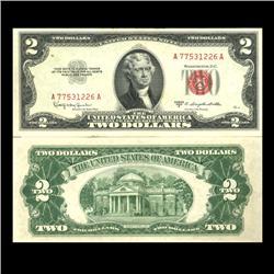 1953C $2 US Note Crisp Uncirculated SCARCE (CUR-06034)
