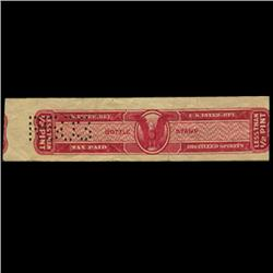 US 1/2 pint Distilled Spirits Tax Stamp NICE (STM-0623)