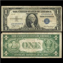 1935 $1 Silver Certificate Nice Condition SCARCE (COI-4680)