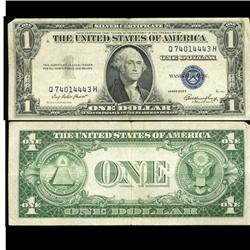 1935E $1 Silver Certificate Crisp Circulated SCARCE (COI-4688)