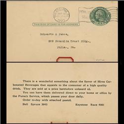 1914 US Washington 1c Postcard Nice (STM-0636)