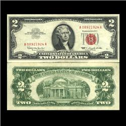 1963 $2 US Note Crisp Circulated (CUR-06035)