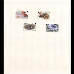 Jersey Mint Single Album Page 4 Pcs (STM-0666)