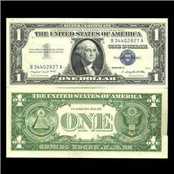 1957A $1 Silver Certificate Crisp Uncirculated RARE (CUR-06023)
