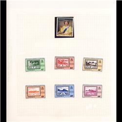 Jersey Mint Margin Single Album Page 7 Pcs (STM-0660)