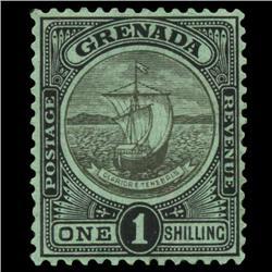 1908 Grenada 1s Postage Stamp Mint PREMIUM (STM-0573)