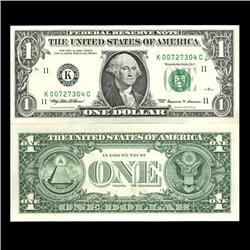1999 $1 Dallas Federal Reserve Note Low Ser# Scarce Crisp Uncirculated (CUR-06029)