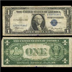 1935A $1 Silver Certificate Nice Condition SCARCE (COI-4681)