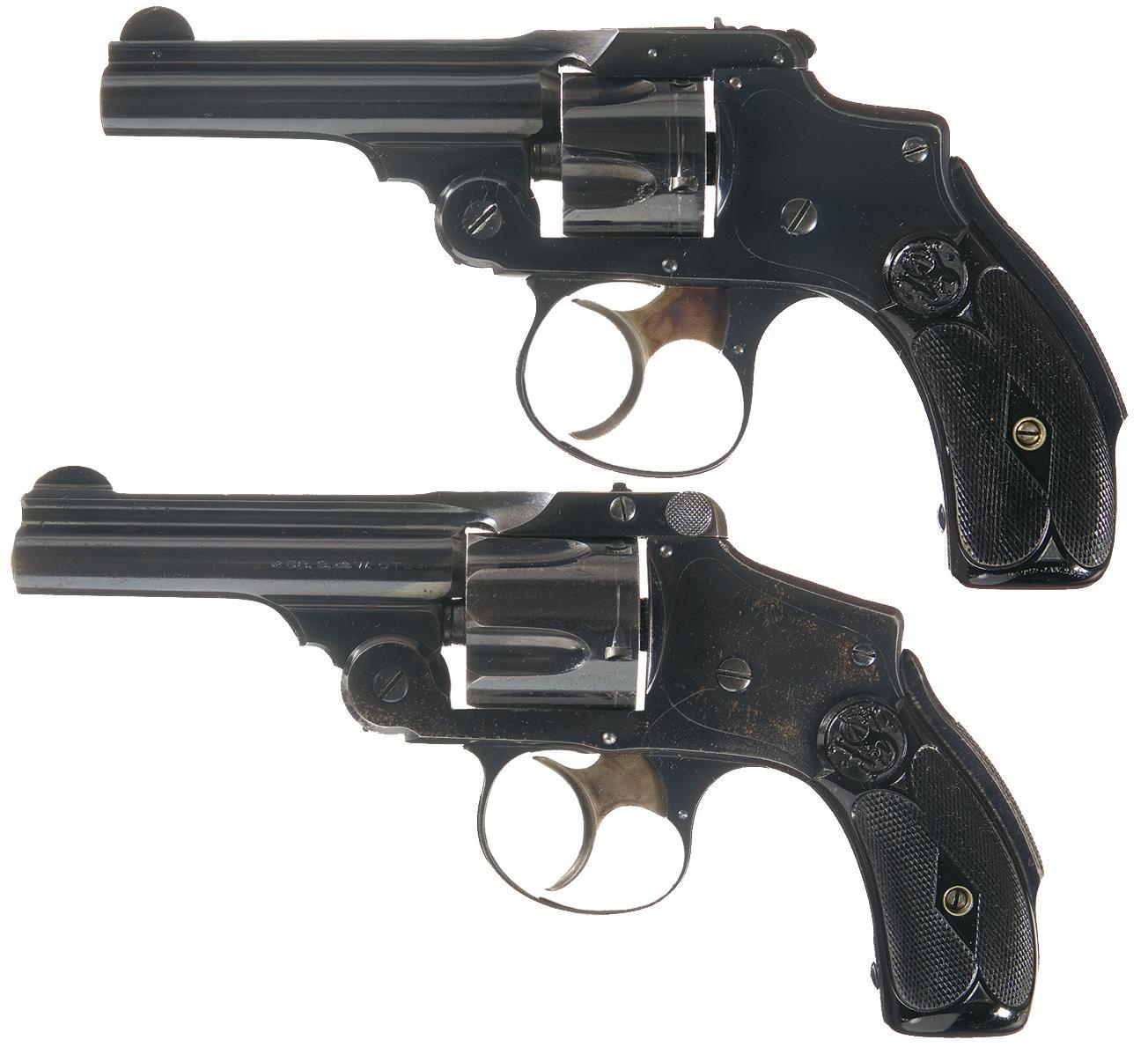 dating min Smith og Wesson revolver