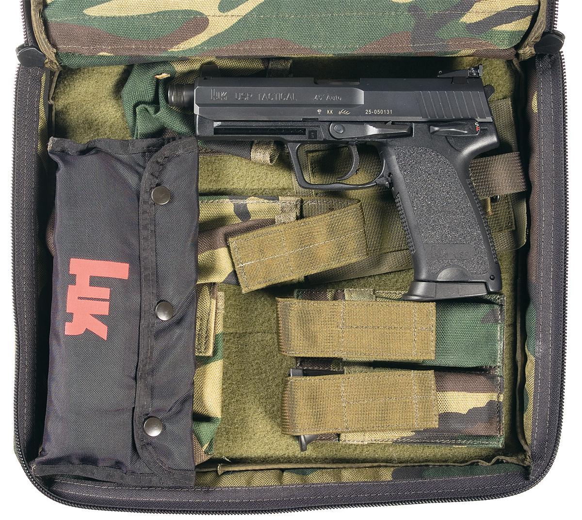 Heckler & Koch Model USP 45 Tactical with Case