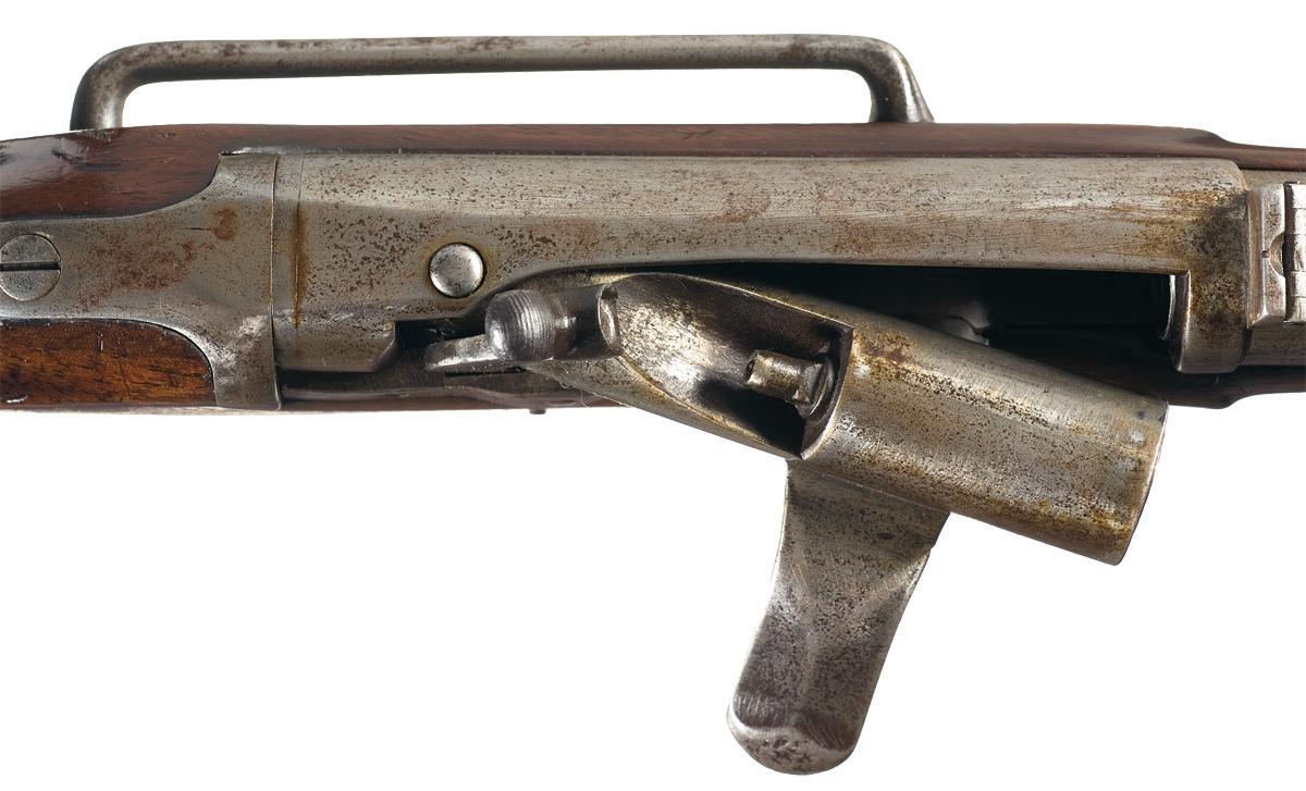 Rare Prototype British Military Proofed Needham Breech Loading Trials  Carbine