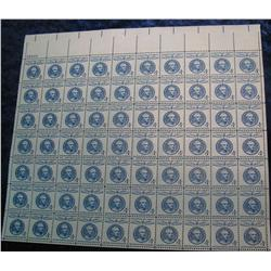"5. Mint Sheet of .04c ""Champion of Liberty"" ""1778-1859 Jose de San Martin"