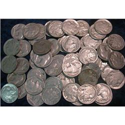 38. (108) Buffalo Nickels. All with dates.