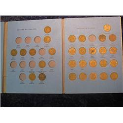 50. 1940-66 Partial Set of Canada Cents in a Whitman folder.