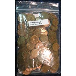 79. Bag of (150) EF-AU Wheat Cents.