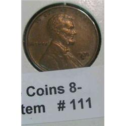 111. 1931 D Lincoln Cent. VF-30.