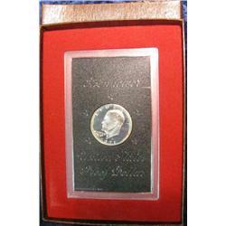 202. 1971 S Proof Eisenhower Silver Dollar in original brown box.