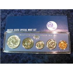 232. 1967 U.S.Silver Special Mint Set. In original box as issued.