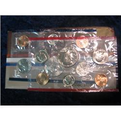 250. 1984 U.S. Mint Set. Original as issued.