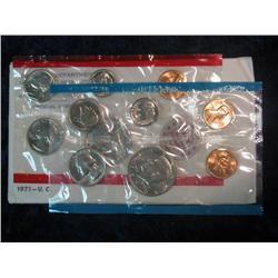 254. 1971 U.S. Mint Set. Original as issued.