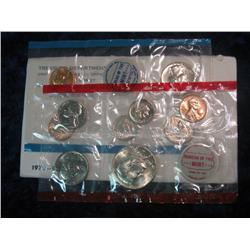 255. 1970 U.S. Mint Set. Original as issued. Complete with rare Silver 1970 D Half Dollar.