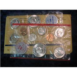 257. 1961 U.S. Silver Mint Set. Original as issued.