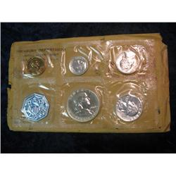 264. 1960 Small Date U.S. Proof Set. Original as issued.