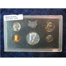 270. 1969 S U.S. Silver Proof Set in original plastic case.