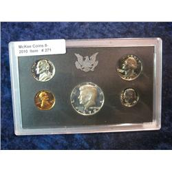 271. 1970 S U.S. Silver Proof Set in original plastic case. Includes a spectacular toned