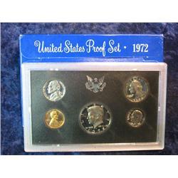 273. 1972 S U.S. Proof Set. Original as issued.
