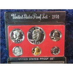 275. 1974 S U.S. Proof Set. Original as issued.