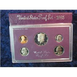 280. 1985 S U.S. Proof Set. Original as issued.