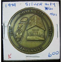 1056. 1879-1979 Silver City, Iowa, Centennial Bronze Medal.