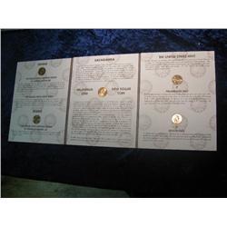 292. Millennium Edition Sacagawea Dollar set in a Harris Album. (5 coins)