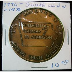 1060. 1776-1976 Spillville, Calmar & Ft. Atkinson, Bicentennial Celebration.