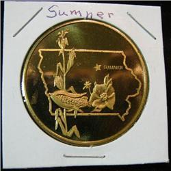 1070. 1872-1997 Sumner, Iowa, 125 th. Anniversary Bronze Medal.