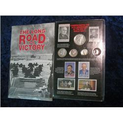 "305. ""The Long Road to Victory"" Set Commemorating the 50th Anniversary of the End of"