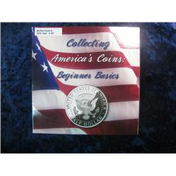 "307. U.S. Mint issued ""Collecting America's Coins: Beginner Basics"" includes folder with"