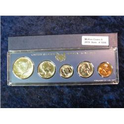 1098. 1966 Special Mint Set. Original as Issued.