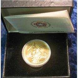 331. 1776-1976 National Bicentennial Medal in original case. Depicts Statue of Liberty.
