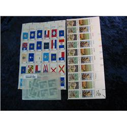 1657. Large group of Mint Unused U.S. Postage Stamps & Sheets of Stamps.