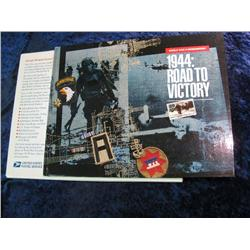 1673. WW II Remembered 1944: Road to Victory Mint Set.
