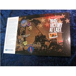 1674. WW II Remembered 1944: Victory at Last Mint Set.