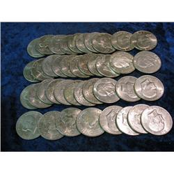 1682. (40) Eisenhower Dollars. Mixed dates including one Silver 1971S.